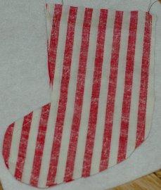 stocking sew sides